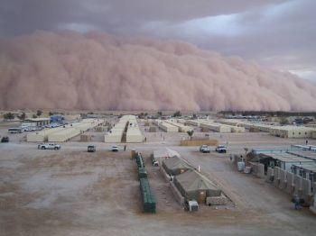 badai pasir di irak